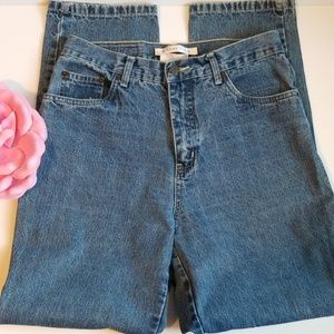 VINTAGE BILL BLASS 8 HIGH WAISTED MOM STYLE JEANS